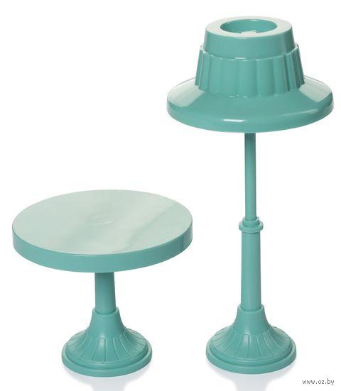 "Набор мебели для кукол ""Торшер и столик"" — фото, картинка"