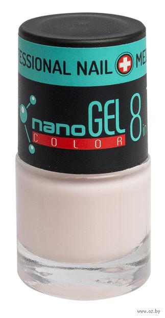 """Лак для ногтей """"Nano Gel Color"""" (тон: 23, бледно-розовый) — фото, картинка"""