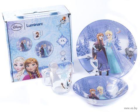 """Набор для завтрака """"Frozen"""" (3 предмета; арт. N5277) — фото, картинка"""
