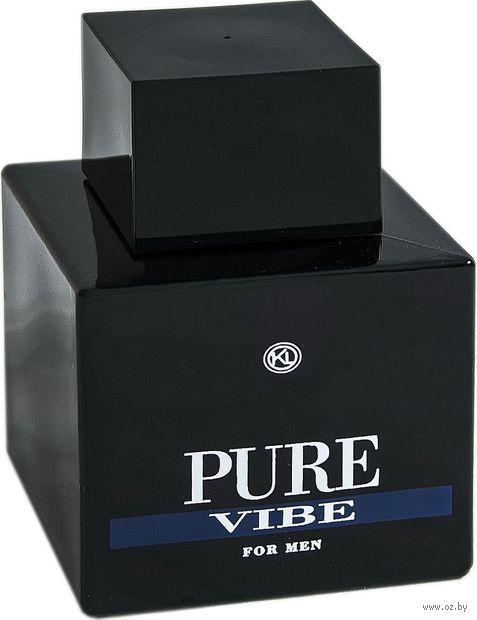 "Туалетная вода для мужчин ""Pure Vibe"" (100 мл) — фото, картинка"