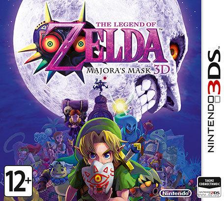 The Legend of Zelda: Majora`s Mask 3D (3DS)