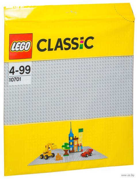 """LEGO Classic """"Серая строительная пластина"""""""
