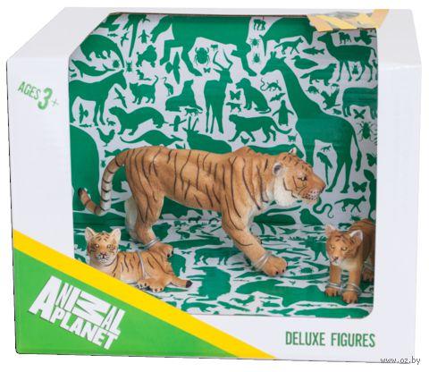 """Набор фигурок """"Animal Planet: Тигр с тигрятами"""" (3 шт.)"""
