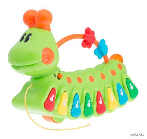 """Развивающая игрушка """"Веселая гусеница"""" (со звуковыми эффектами)"""