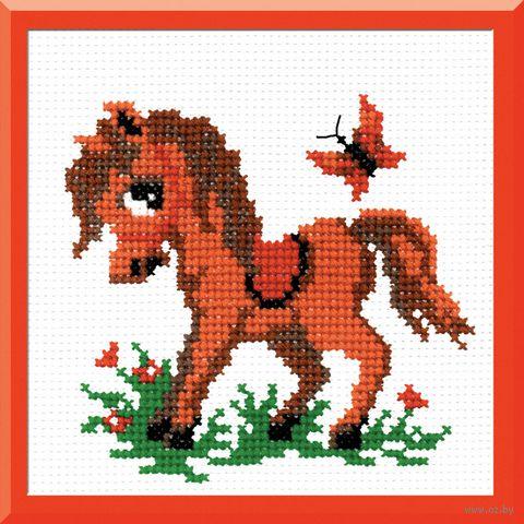 """Вышивка крестом """"Лошадка"""""""