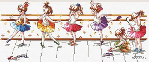 """Вышивка крестом """"Маленькие балерины"""""""