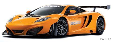 """Модель машины """"Bburago. Race McLaren 12C GT3"""" (масштаб: 1/43) — фото, картинка"""
