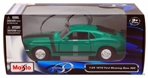 "Модель машины ""Ford Mustang Boss"" (масштаб: 1/24) — фото, картинка"