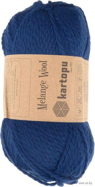 "Пряжа ""KARTOPU. Melange Wool №K5016"" (100 г; 170 м; синий) — фото, картинка"