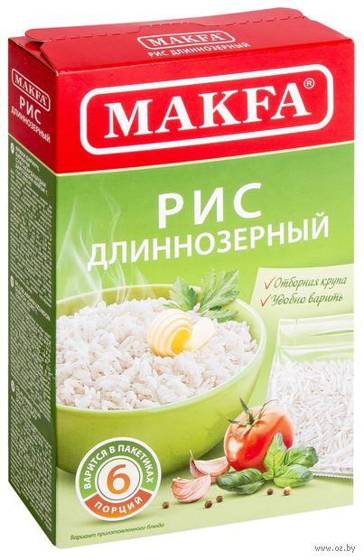 """Рис длиннозерный """"Makfa"""" (5 шт.) — фото, картинка"""