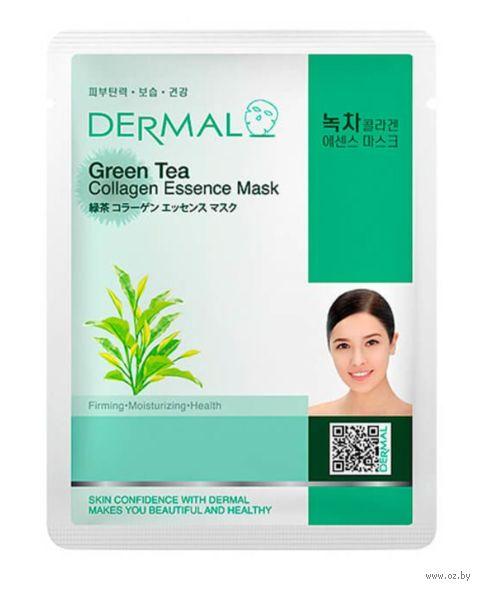 """Тканевая маска для лица """"Green Tea Collagen"""" (23 г) — фото, картинка"""