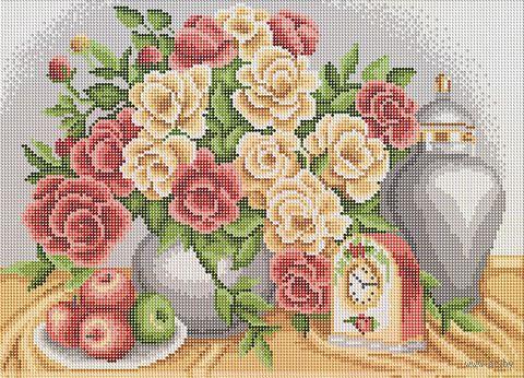 """Алмазная вышивка-мозаика """"Роскошный букет"""" (500х360 мм) — фото, картинка"""