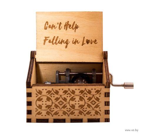 "Шкатулка музыкальная ""Can't Help Falling in Love"" — фото, картинка"