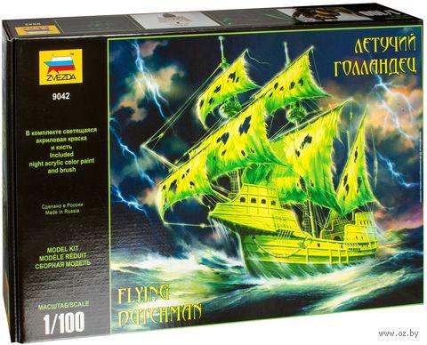 """Сборная модель """"Модель легендарного корабля-призрака """"Летучий голландец"""" (масштаб: 1/100) — фото, картинка"""