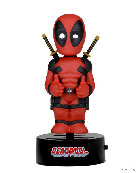 "Фигурка ""Neca. Deadpool"" на солнечной батарее (15 см)"