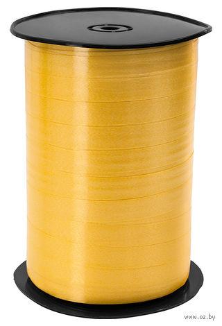 """Подарочная лента """"Stewo"""" (желтая; арт. 834153-10\STW) — фото, картинка"""