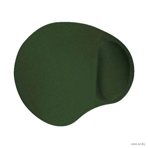 Коврик для мыши Buro BU-GEL/ (зеленый) — фото, картинка