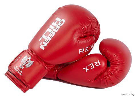 Перчатки боксерские REX BGR-2272 (12 унций; красные) — фото, картинка