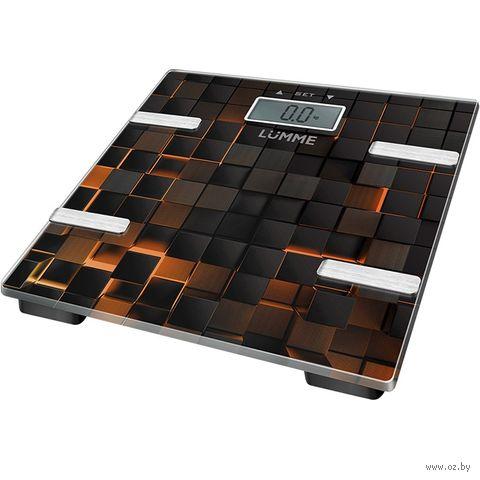Напольные весы Lumme LU-1331 (черный сенсор) — фото, картинка