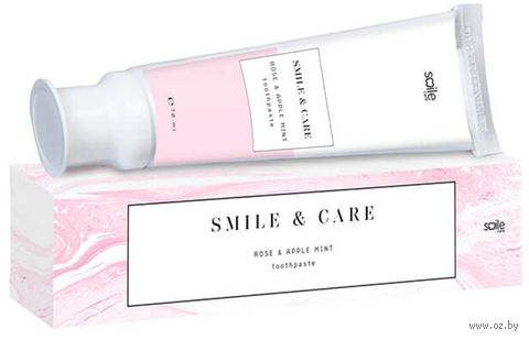 """Зубная паста """"Care Toothpaste Rose and Apple Mint"""" (70 мл) — фото, картинка"""