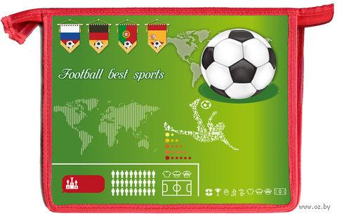 """Папка для тетрадей """"Футбол - лучший спорт"""" (формат: А5)"""