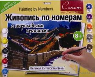 """Картина по номерам """"Великая Китайская стена"""" (300х420 мм)"""