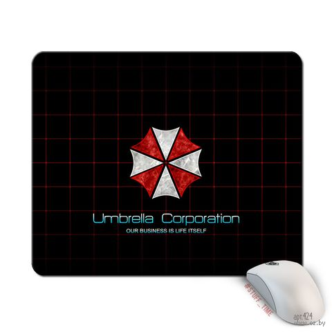 """Коврик для мыши большой """"Umbrella Corporation"""" (424)"""
