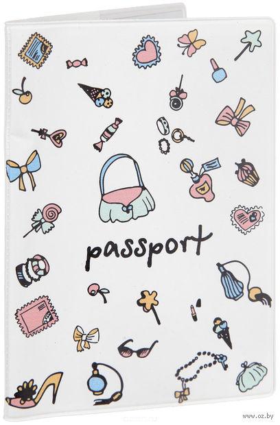 """Обложка для паспорта """"Дамские штучки"""" (арт. 29052) — фото, картинка"""