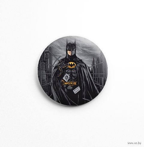 "Значок маленький ""Бэтмен"" (арт. 343) — фото, картинка"