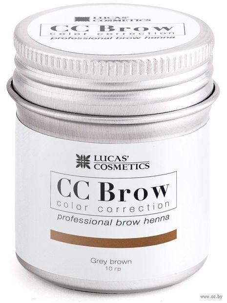 "Хна для бровей ""CC Brow. Big. Баночка"" тон: grey brown — фото, картинка"