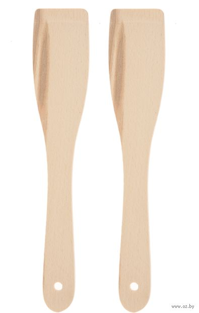 Набор лопаток деревянных (2 шт.) — фото, картинка