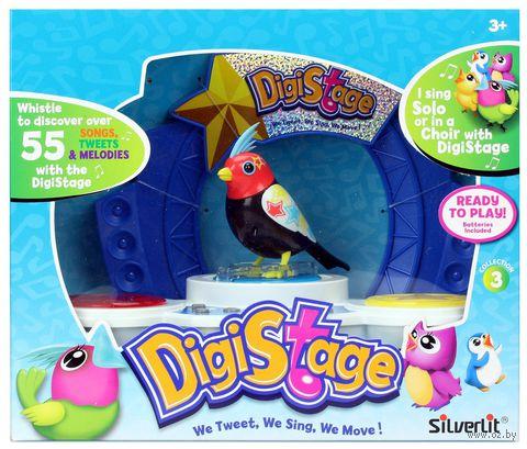 """Интерактивная игрушка """"Птичка со сценой"""""""
