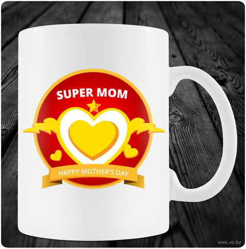"Кружка ""Happy Mother's Day"" (арт. 37) — фото, картинка"