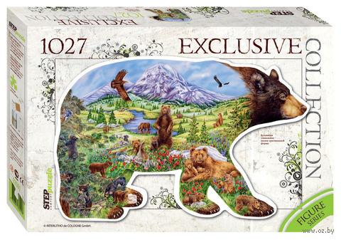 "Пазл ""Медведь"" (1027 элементов) — фото, картинка"
