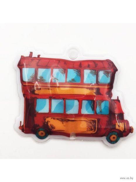 """Брелок-фонарь электрический """"Автобус"""" — фото, картинка"""
