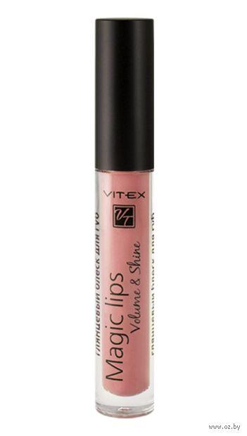 "Блеск для губ ""Magic Lips"" тон: 807, powder pink — фото, картинка"