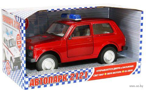 """Модель машины """"ВАЗ 2121"""""""