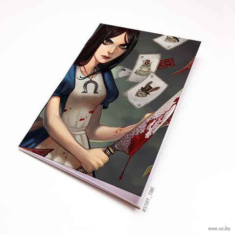 "Блокнот белый ""Алиса"" А6 (349)"