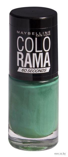 """Лак для ногтей """"Colorama"""" (тон: 217, зеленый) — фото, картинка"""