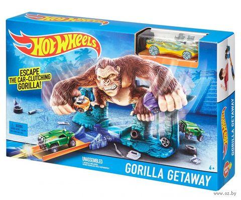 """Игровой набор """"Hot Wheels. Побег гориллы"""""""
