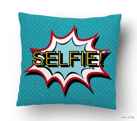"""Подушка маленькая """"Selfie"""" (art. 28; 15x15 см)"""