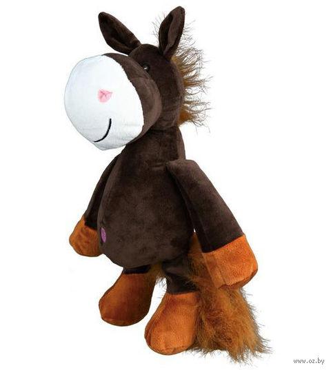 """Игрушка для собаки с пищалкой """"Лошадь"""" (32 см)"""