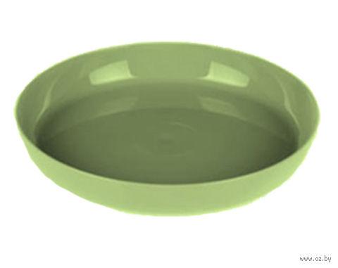 """Подставка для цветочного горшка """"Ага"""" (11 см; зеленая) — фото, картинка"""