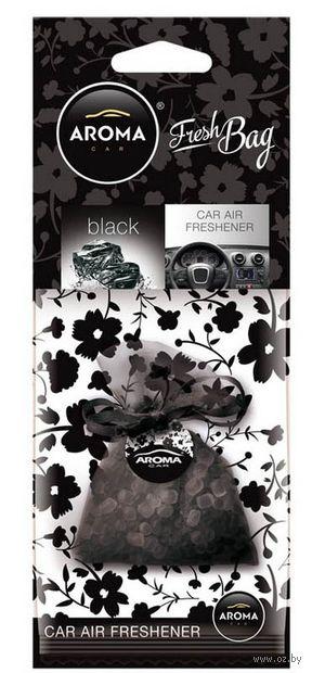 """Ароматизатор подвесной """"Fresh Bag"""" (black) — фото, картинка"""