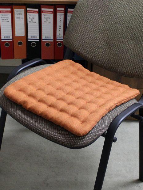 """Подушка на стул """"Ecology"""" (40х40 см; паприка) — фото, картинка"""