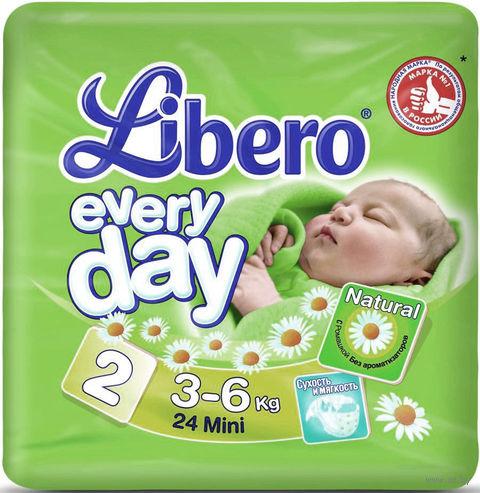 "Подгузники для детей Libero Every day ""Mini 2"" (3-6 кг, 24 шт)"