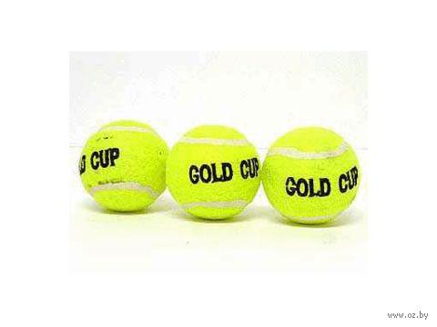 "Набор мячей для тенниса ""Gold Cup"" (3 шт.)"