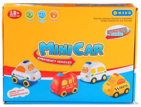 """Набор машинок """"Mini Car"""" (со звуковыми эффектами) — фото, картинка"""