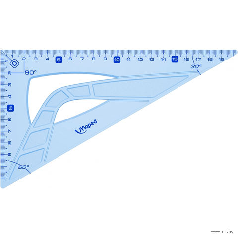 "Треугольник ""Geometric"" (21 см.; 60 градусов)"
