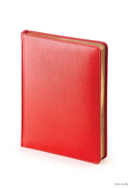 """Ежедневник недатированный """"Sidney Nebraska"""" (A6; красный) — фото, картинка"""